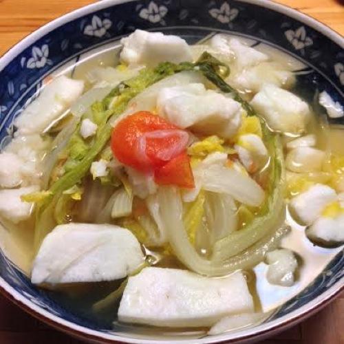 4THEはんぺんスープ