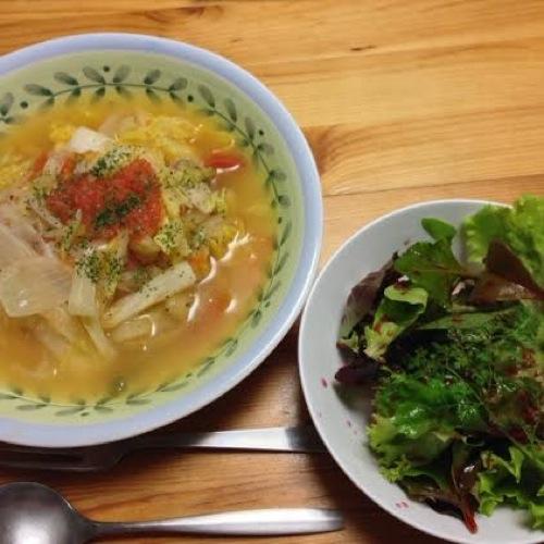 9白菜スープ