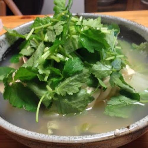 4山盛りの水菜