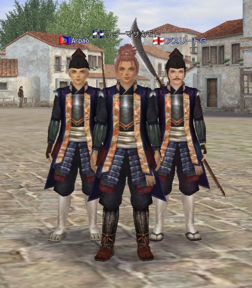 第24回6月ナポリ大会 武装3人