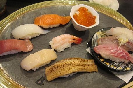 ランチセット寿司