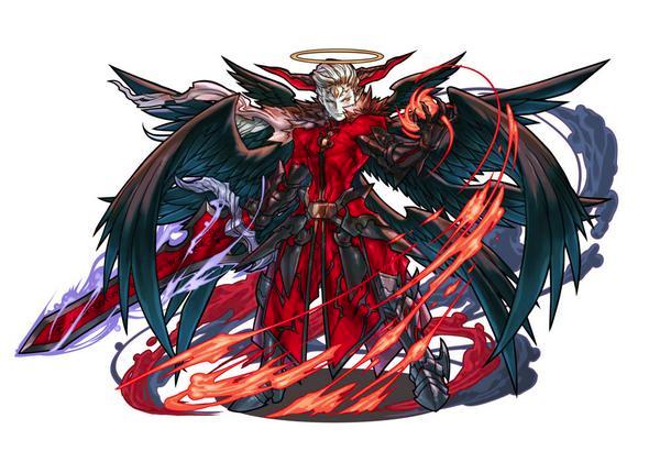 天滅の神魔王・ルシファー:闇×火