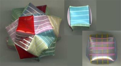 折り紙くす玉をストローで作る4