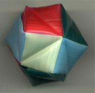 折り紙くす玉をストローで作る0