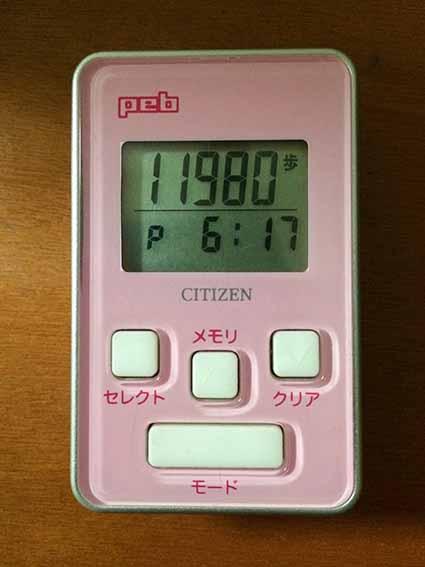 11980歩