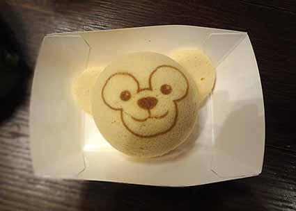 ダッフィーちゃんのケーキ
