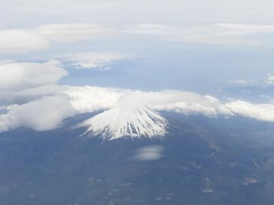 飛行機から富士山 2014 5・12
