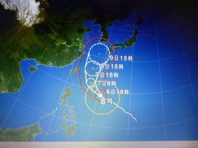台風情報 2014 7・6
