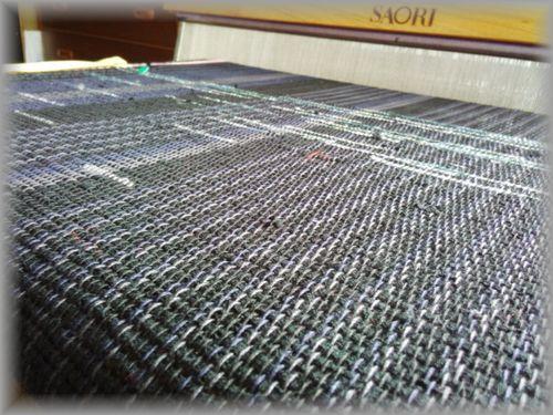 テーブルセンターの織り