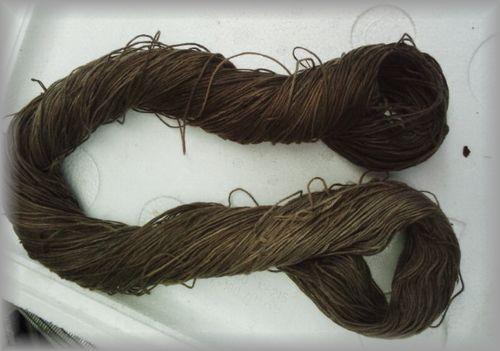 モッコウバラの綿糸