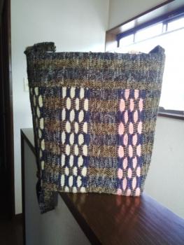 めがね織りバッグ2