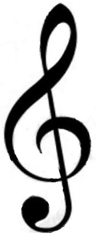 ト音記号採用B