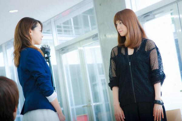 hitomiのドラマ「ファーストクラス」での画像3