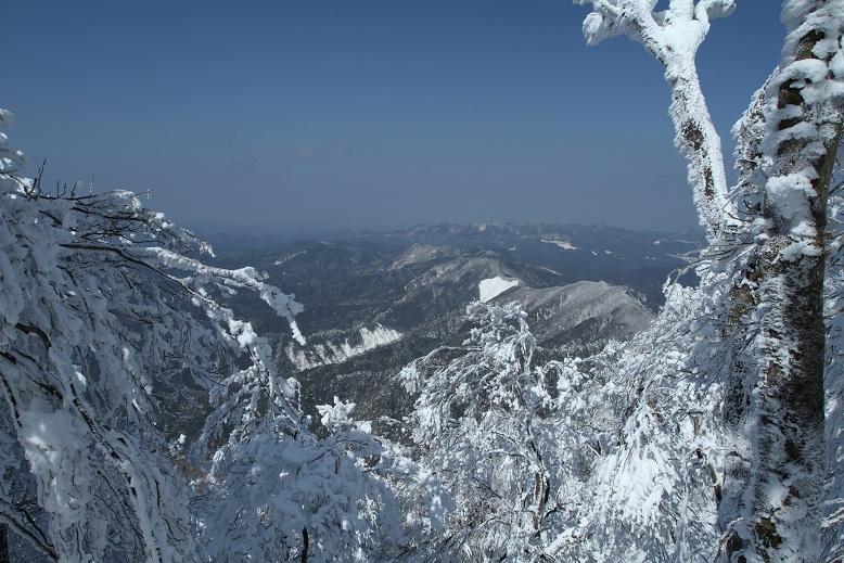 高見山にて、2