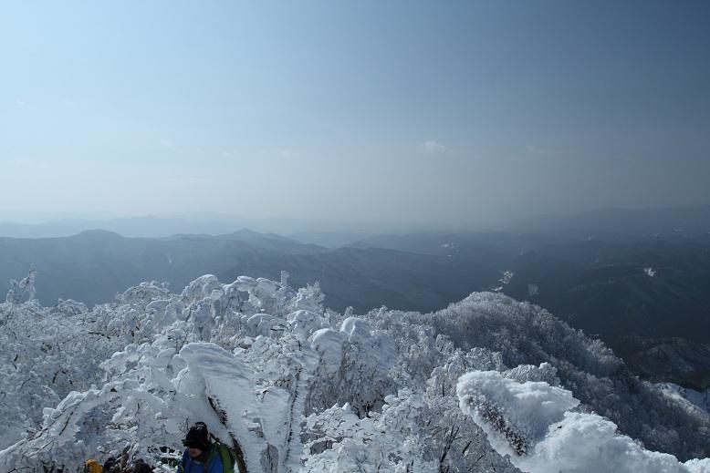 高見山にて、11