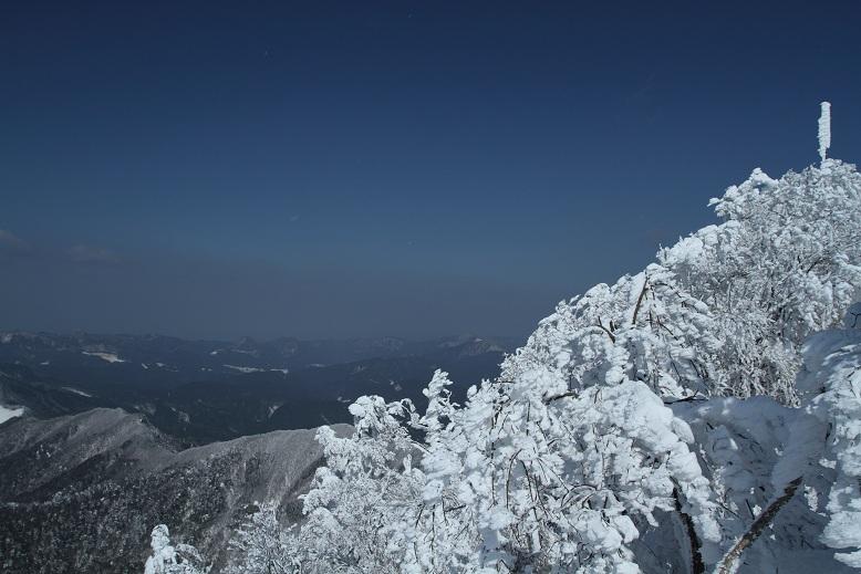 高見山にて、12