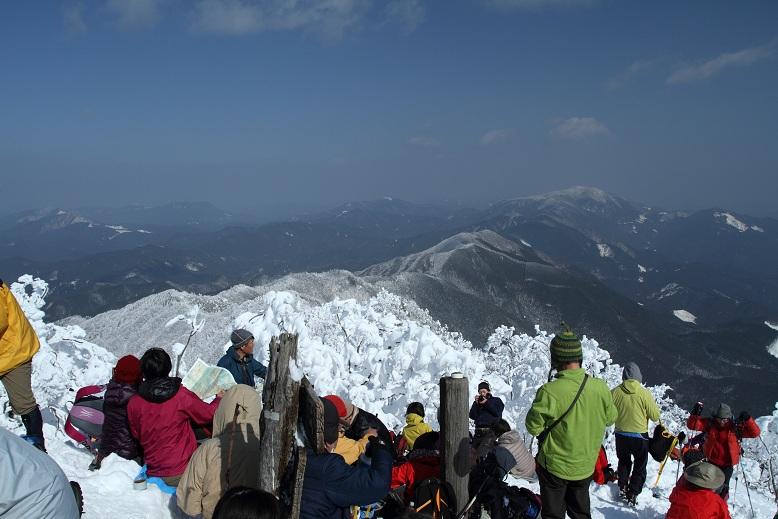 高見山にて、13