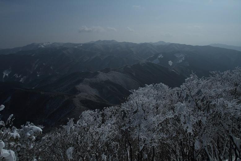 高見山にて、1