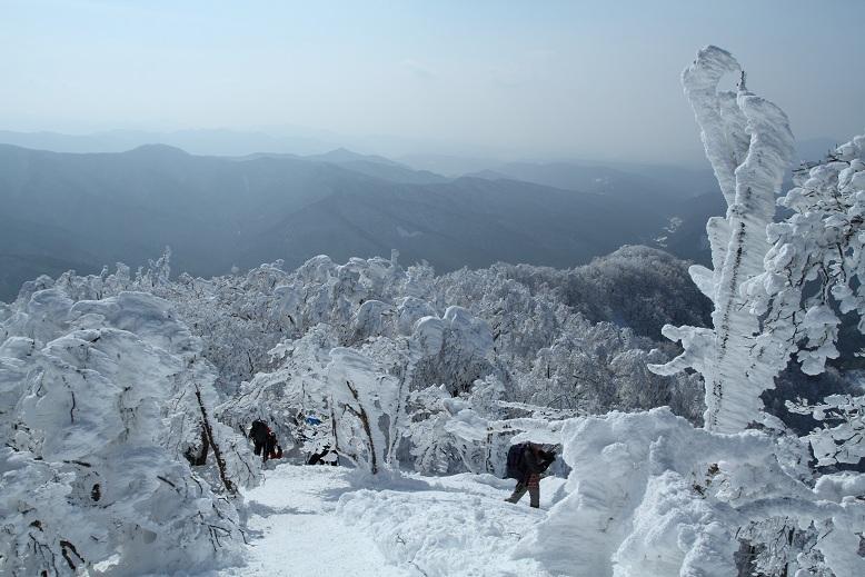高見山にて、3