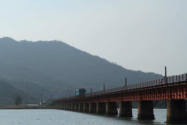 由良川橋梁にて、3
