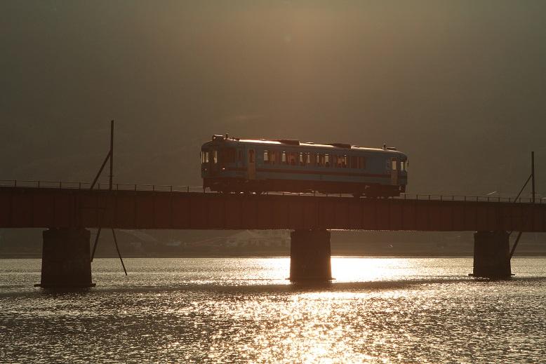 由良川橋梁にて、4
