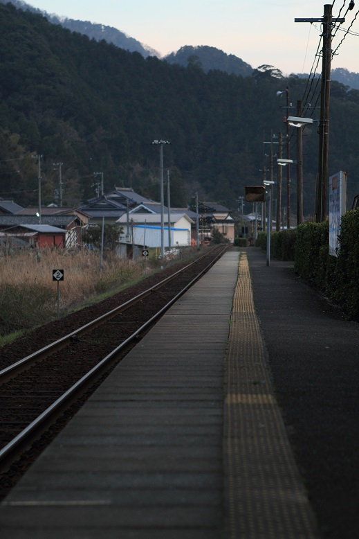 由良川橋梁にて、8