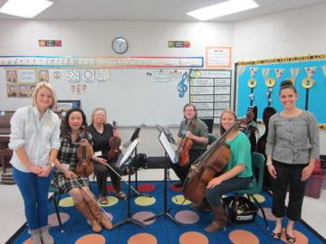 弦楽カルテット小学校訪問 / Mathis Elementary School-6, 2014-4-21