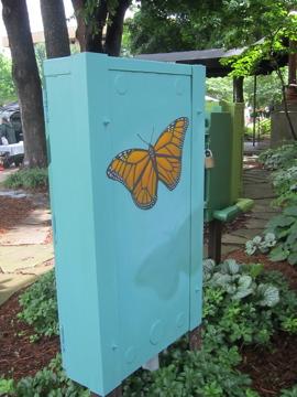 7月の青空の下 /街角アート -3, 2014-7-15