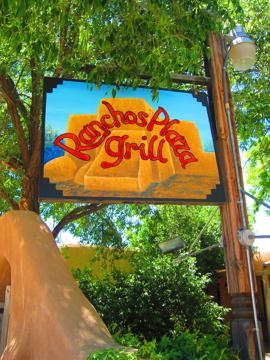 タオスのメキシコ料理店 / Ranchos Plaza Grill-1, 2014-6-28