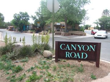 ギャラリー通り / Canyon Road-1, 2014-6-26