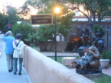 ギャラリー通り / Canyon Road-10, 2014-6-26