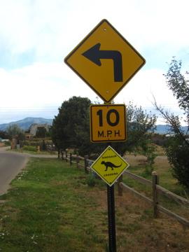 ニューメキシコで見付けた???な道路標識-2, 2014-6-25