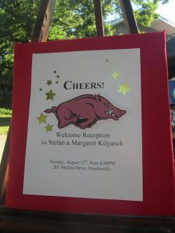 「ようこそ!アーカンソー大学へ」のパーティー -1, 2014-8-17