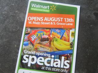 Walmart vs. Whole Foods -1, 2014-8-14