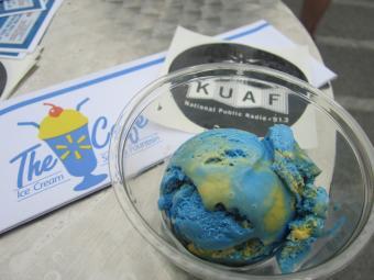 Ice Cream Social @ KUAF-4, 2014-8-30