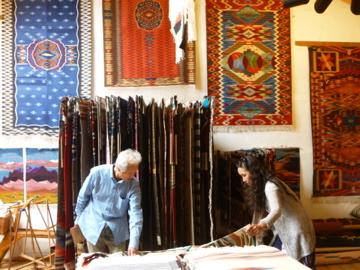 Chimayoの織物-8, 2014-6-27