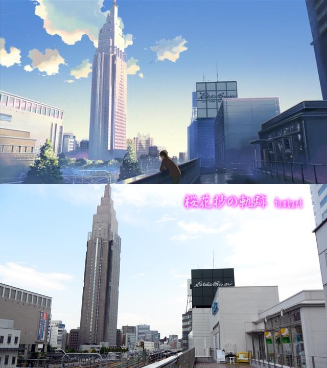 一瞬だけ現れるシーンなので印象は希薄なのではないでしょうか。ただし、絵柄的には都会の高い空をイメージしているだけにスカッと爽快。