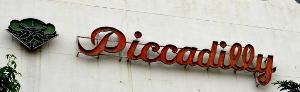 旧ピカデリー劇場のマーク