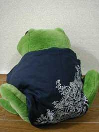 服(カエル柄)