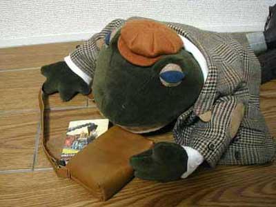 旅するカエル紳士