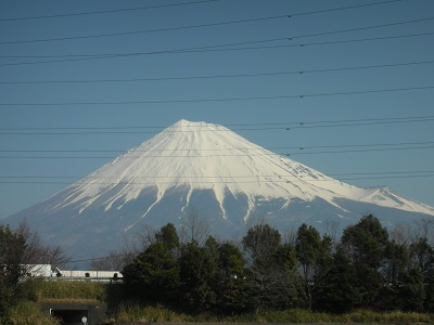 晴天 富士山