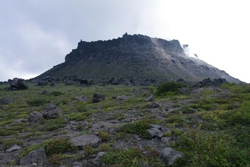 山頂の要塞