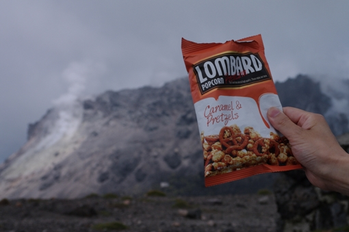 溶岩円頂丘とポップコーン…似てる?