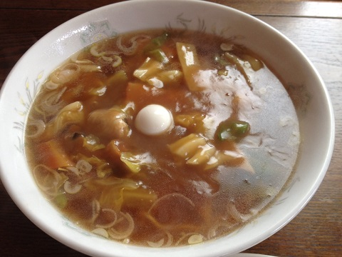 なかみち広東麺