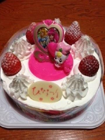 雛祭ケーキ