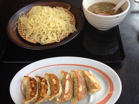 つけ麺餃子