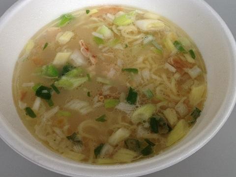 行列カップ麺