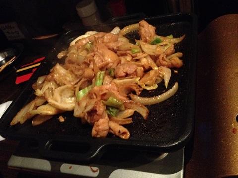 味噌鶏ちゃん焼