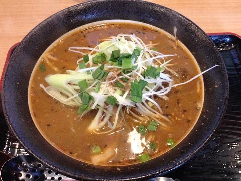 黒味噌担担麺