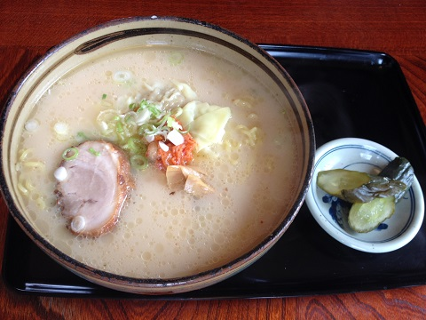 盛岡ワンタン麺